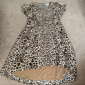 Lane Bryant cheetah print dress size 26